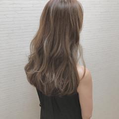 フェミニン ロング 簡単ヘアアレンジ 外国人風カラー ヘアスタイルや髪型の写真・画像