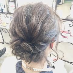 結婚式 モテ髪 ナチュラル 愛され ヘアスタイルや髪型の写真・画像