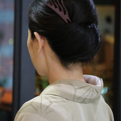 和装 ナチュラル 着物 和服 ヘアスタイルや髪型の写真・画像