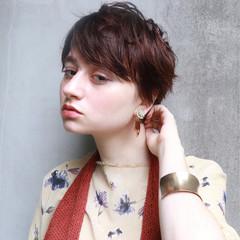 ナチュラル ショート 簡単 外国人風 ヘアスタイルや髪型の写真・画像