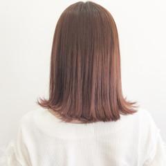 大人女子 ミディアム ブリーチ イルミナカラー ヘアスタイルや髪型の写真・画像