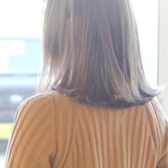 こなれ感 アッシュ ボブ 色気 ヘアスタイルや髪型の写真・画像