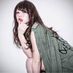 ストリート パンク 外国人風カラー アッシュベージュ ヘアスタイルや髪型の写真・画像