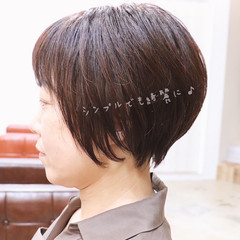 ショートボブ ショート アッシュ モード ヘアスタイルや髪型の写真・画像