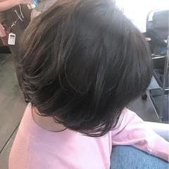 マッシュ ストリート ボブ ブルージュ ヘアスタイルや髪型の写真・画像