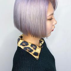 ストリート ベリーショート ショート ハイトーンカラー ヘアスタイルや髪型の写真・画像