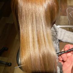 簡単ヘアアレンジ 髪質改善カラー ナチュラル 髪質改善 ヘアスタイルや髪型の写真・画像