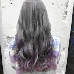 ロング ガーリー ブリーチ ロングヘア ヘアスタイルや髪型の写真・画像