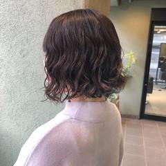 ミニボブ ショートヘア ナチュラル ボブ ヘアスタイルや髪型の写真・画像
