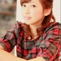 ヘアアレンジ ミディアム コンサバ ハーフアップ ヘアスタイルや髪型の写真・画像
