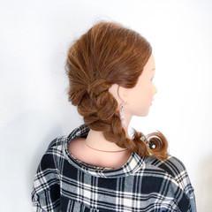 簡単ヘアアレンジ 結婚式 エレガント デート ヘアスタイルや髪型の写真・画像