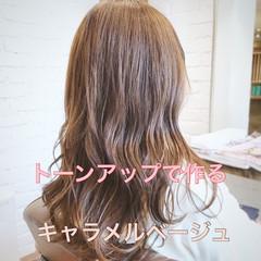 ロング デート アウトドア ヘアアレンジ ヘアスタイルや髪型の写真・画像