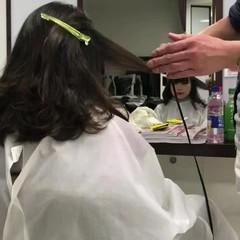カール モテ髪 ガーリー ミディアム ヘアスタイルや髪型の写真・画像