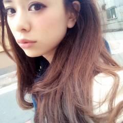 ストリート モテ髪 ゆるふわ ロング ヘアスタイルや髪型の写真・画像