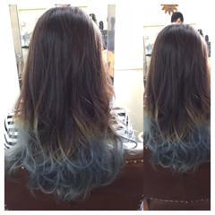 ガーリー 外国人風 アッシュ ハイライト ヘアスタイルや髪型の写真・画像