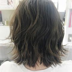 ウェットヘア ボブ レイヤーカット ナチュラル ヘアスタイルや髪型の写真・画像