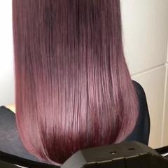 セミロング ハイライト 外国人風 ストリート ヘアスタイルや髪型の写真・画像