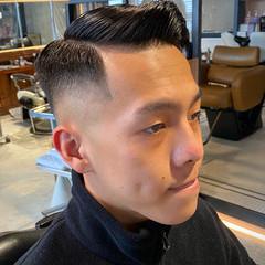 刈り上げ スキンフェード フェードカット ナチュラル ヘアスタイルや髪型の写真・画像