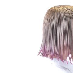ストリート 外国人風 ボブ 色気 ヘアスタイルや髪型の写真・画像