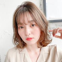 フェミニン モテボブ ショートヘア ミニボブ ヘアスタイルや髪型の写真・画像