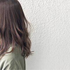 マット ナチュラル 黒髪 アッシュ ヘアスタイルや髪型の写真・画像