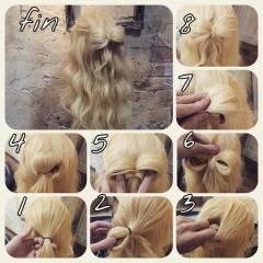 ナチュラル 春 ヘアアレンジ パンク ヘアスタイルや髪型の写真・画像