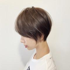 ショートヘア 大人かわいい ショートボブ ショート ヘアスタイルや髪型の写真・画像