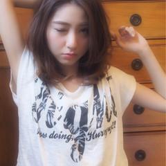 おフェロ モテ髪 ミディアム ナチュラル ヘアスタイルや髪型の写真・画像