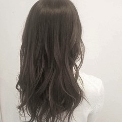 オフィス ナチュラル ロング 秋 ヘアスタイルや髪型の写真・画像