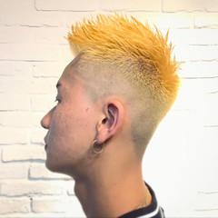 メンズ ショート ストリート フェードカット ヘアスタイルや髪型の写真・画像