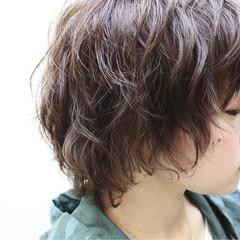 似合わせ 小顔 ショート ストリート ヘアスタイルや髪型の写真・画像