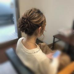 結婚式 アップスタイル ロング ヘアアレンジ ヘアスタイルや髪型の写真・画像