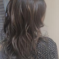 ロング 3Dハイライト ハイライト ナチュラル ヘアスタイルや髪型の写真・画像