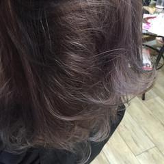 フェミニン ハイライト ストリート 大人かわいい ヘアスタイルや髪型の写真・画像