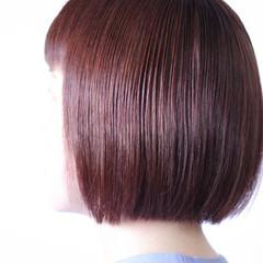 ピンクバイオレット ラベンダーピンク ボブ ラベンダーアッシュ ヘアスタイルや髪型の写真・画像