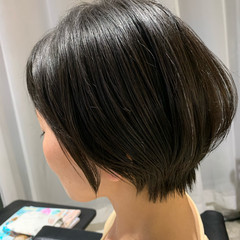ショート ショートヘア ミニボブ ショートボブ ヘアスタイルや髪型の写真・画像