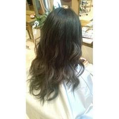 透明感 アッシュグレージュ アッシュ 外国人風 ヘアスタイルや髪型の写真・画像