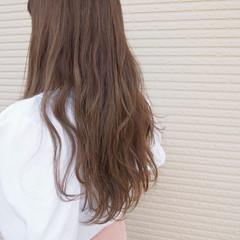 大人かわいい デート ロング ナチュラル ヘアスタイルや髪型の写真・画像