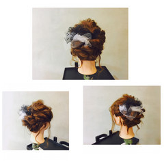 前髪あり 大人かわいい ショート 簡単ヘアアレンジ ヘアスタイルや髪型の写真・画像