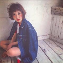 ストリート ゆるふわ ヘアアレンジ レイヤーカット ヘアスタイルや髪型の写真・画像