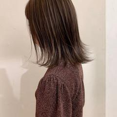 大人かわいい ミディアム ナチュラル 外国人風 ヘアスタイルや髪型の写真・画像