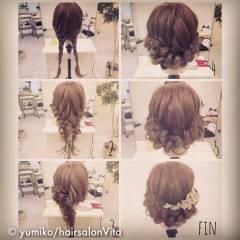 ナチュラル ショート 結婚式 簡単ヘアアレンジ ヘアスタイルや髪型の写真・画像