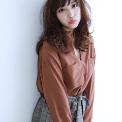 モテ髪 パーマ デート 冬 ヘアスタイルや髪型の写真・画像