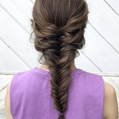 ヘアアレンジ ハイライト ビーチガール ロング ヘアスタイルや髪型の写真・画像
