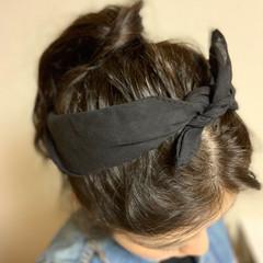 ヴィーナスコレクション カチューシャ ポニーテールアレンジ ナチュラル ヘアスタイルや髪型の写真・画像