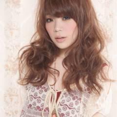 愛され 大人かわいい セミロング フェミニン ヘアスタイルや髪型の写真・画像