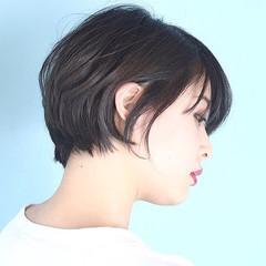 ナチュラル 白髪染め 大人可愛い デート ヘアスタイルや髪型の写真・画像