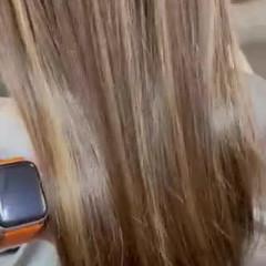 イルミナカラー 最新トリートメント 髪質改善トリートメント トリートメント ヘアスタイルや髪型の写真・画像