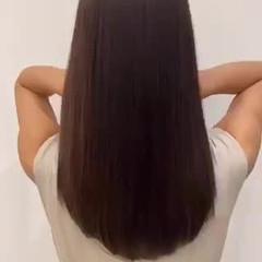トリートメント 外国人風 大人カジュアル フェミニン ヘアスタイルや髪型の写真・画像