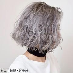 ダブルカラー 外国人風 色気 グラデーションカラー ヘアスタイルや髪型の写真・画像